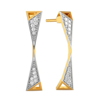 Power Play Diamond Earrings