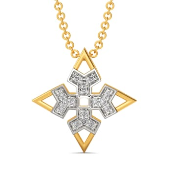 Bolder Shoulder Diamond Pendants
