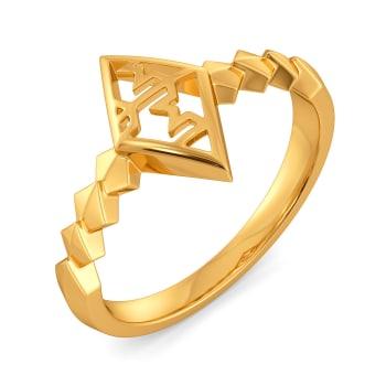 The Tweed Meet Gold Rings