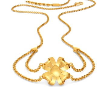 Bows Untangled Gold Necklaces