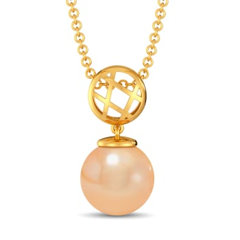 Peach Perfect Gemstone Pendants