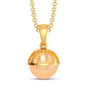 Peach Ready Gemstone Pendants