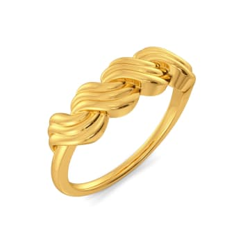 Twisted Tales Gold Rings