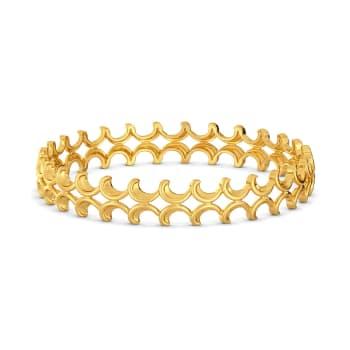 Hooks N Nooks Gold Bangles