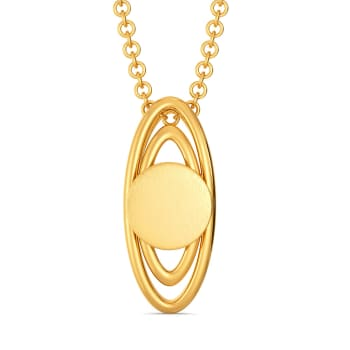 Follow up Sequins Gold Pendants