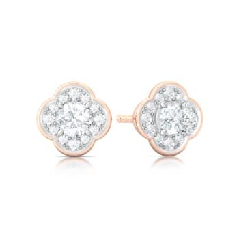 Eternity Blossoms Diamond Earrings