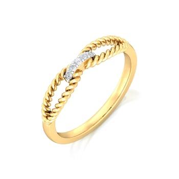 Twist of Fate  Diamond Rings