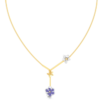 Ultra Blue Gold Necklaces
