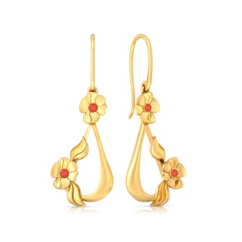 Gypsy Swing Gold Earrings