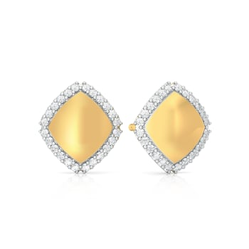 Hem of Gems Diamond Earrings
