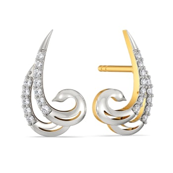 Avian Grace Diamond Earrings