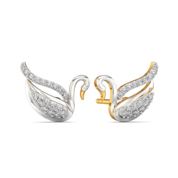Daring N Demure Diamond Earrings