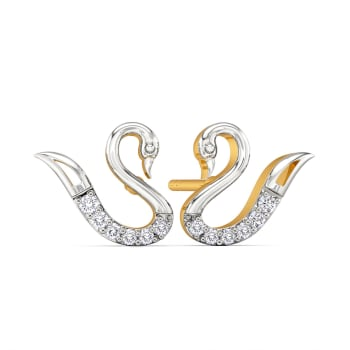 Bold N Brave Diamond Earrings