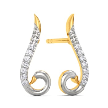 Tale of Swan Diamond Earrings