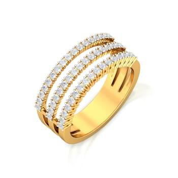 Shimmer Strands  Diamond Rings