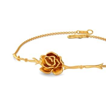 Sinister Bloom Gold Bracelets