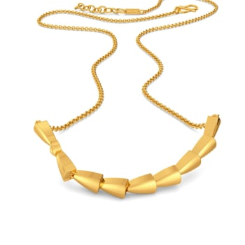 Twisters Gold Necklaces