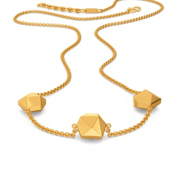 Taut to Tight Gold Necklaces