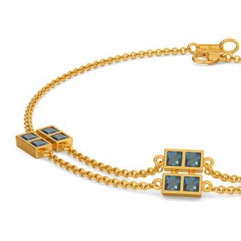 True to Blue Gemstone Bracelets
