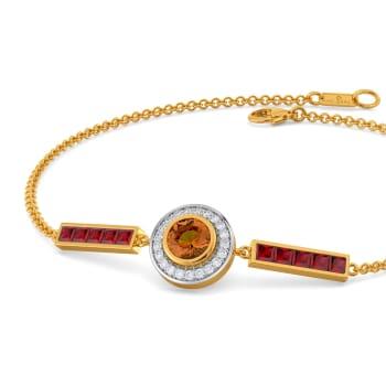 Retro Repeat Gemstone Bracelets