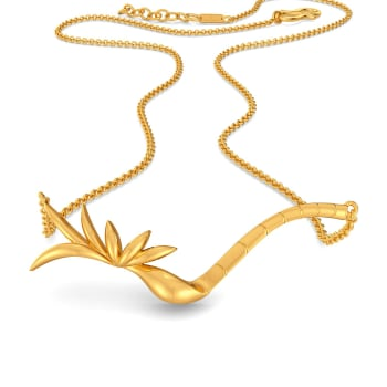 The Tropical Trivia Gold Necklaces