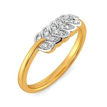 The Fern Coast Diamond Rings
