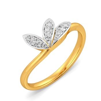 Stun A Fern Diamond Rings