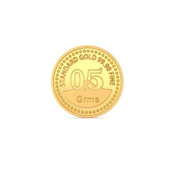 0.5 g 24 kt Gold Coin Gold Coins