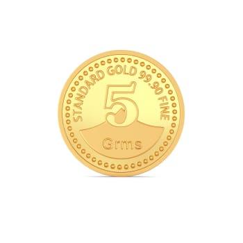 5 g 24 kt Gold Coin Gold Coins