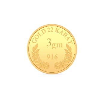 3 g 22 kt Gold Coin Gold Coins