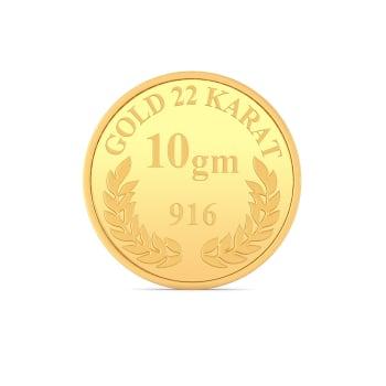 10 g 22 kt Gold Coin Gold Coins