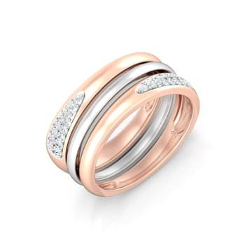 Orbit Diamond Rings