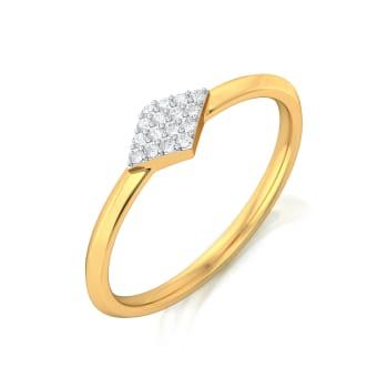 Fab Facet Diamond Rings
