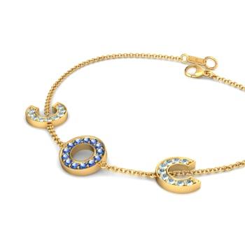 Wild Blue Yonder Gemstone Bracelets