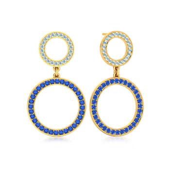 Wild Blue Yonder Gemstone Earrings