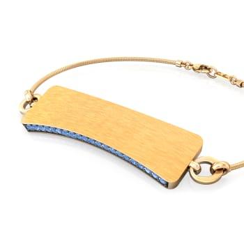 Peek-a-Blue Gemstone Bracelets