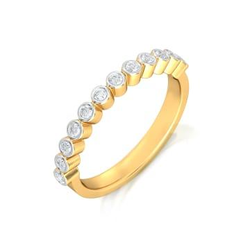 Endless Loop Diamond Rings