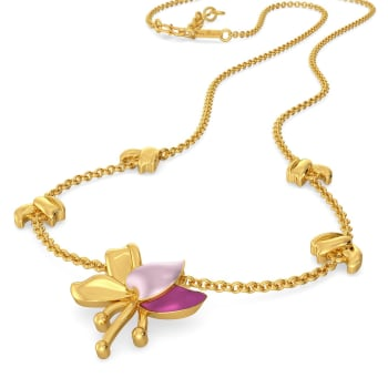 Lei Floret Gold Necklaces