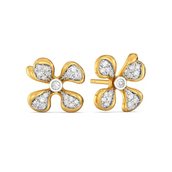 The Flower Inc Diamond Earrings