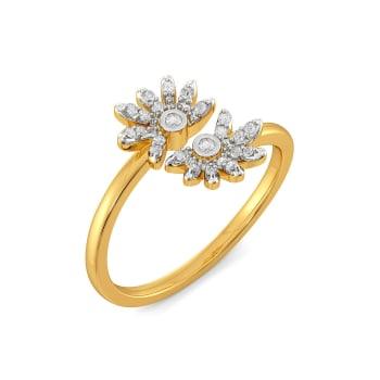 The Mirror Image Diamond Rings