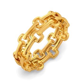 Mesh Muse Gold Rings