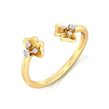 Belle-Flower Diamond Rings