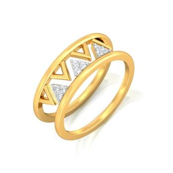 Cabaret Chic Diamond Rings