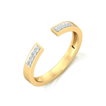 Mind the Gap Diamond Rings