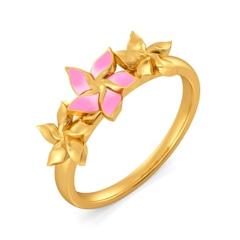 Tropic Trials Gold Rings