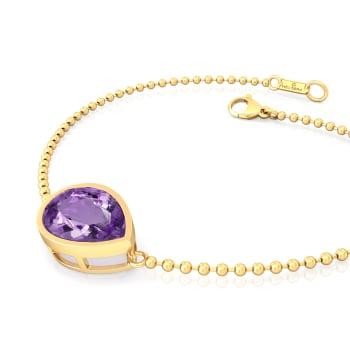 Purple Haze Gemstone Bracelets
