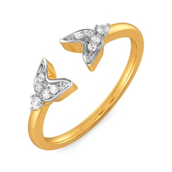 Beanie Blues Diamond Rings
