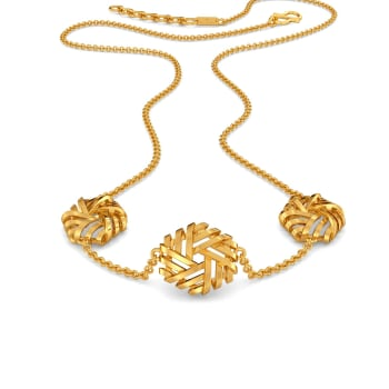 Reveal N Conceal Gold Necklaces