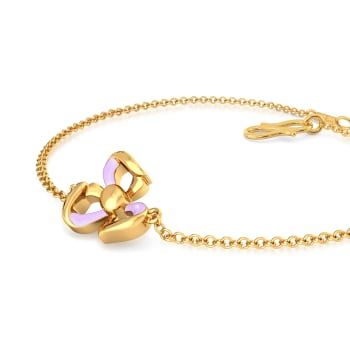 Prim & Purple Gold Bracelets