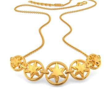 Star Afar Gold Necklaces